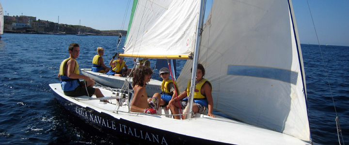 Un corso di vela con la Lega Navale